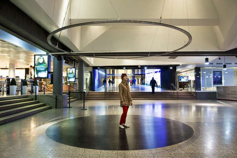 This Musical Installation Provides Peaceful Sounds in the Middle of a Mall