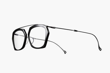 Modular Bone-Inspired Eyewear