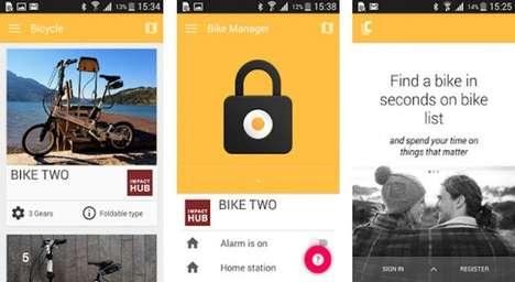 Instant E-Bike Sharing Schemes