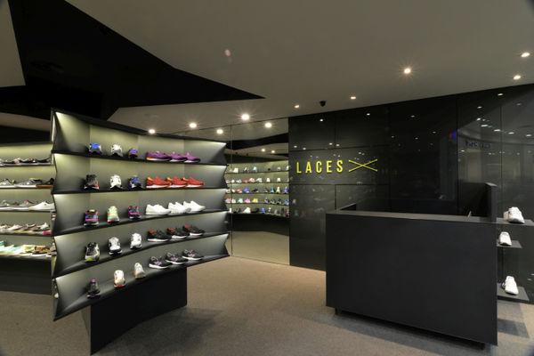 laces sneaker store