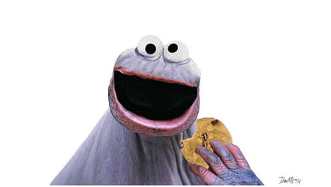 Hairless Cookie Muppets