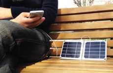 High-Efficiency Solar Chargers - The sCharger-5 Boasts Features to Make It the Best Solar Charger
