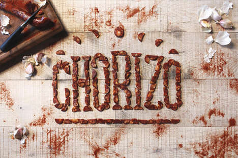 Edible Foodie Typography