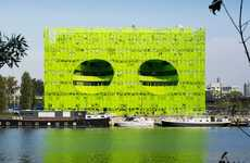 Lime Green Aluminum Buildings