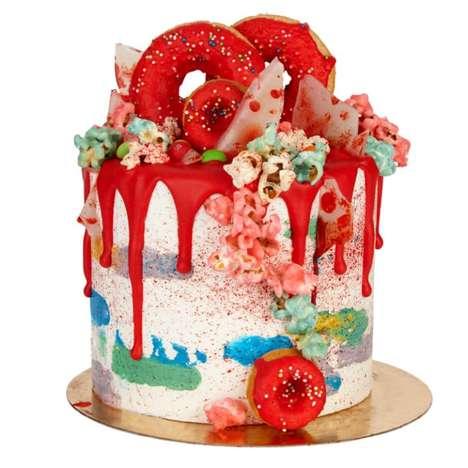 Monstrous Halloween Cakes