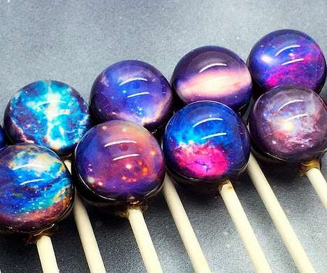 Space-Inspired Lollipops