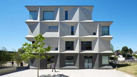 Coherent School Designs - The Burntwood School's New Buildings Integrate Into Its Older Ones