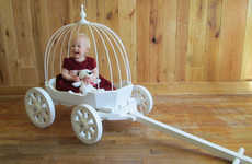 Opulent Baby Wagons - Etsy's Mini Wagons Shop Specializes in Decorative Baby Carriages