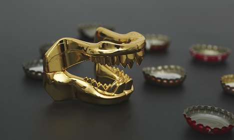 Shark Jaw Bottle Openers