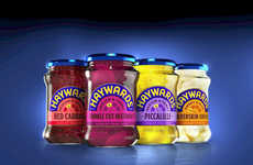 Flavor-Centric Pickle Packages - This Pickled Veg Brand's Packaging Attracts Young Consumers