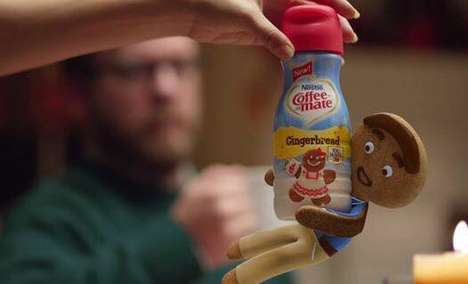Cookie-Flavored Creamer Ads