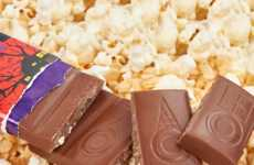 Popcorn Candy Bars - Dylan's 'Bones & Bits' Bar Has a Crunchy Popcorn Chocolate Texture