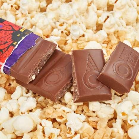 Popcorn Candy Bars