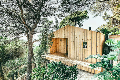 Sustainable Wooden Studios - This Simple Spanish Cabin Boasts an Eco-Friendly Design