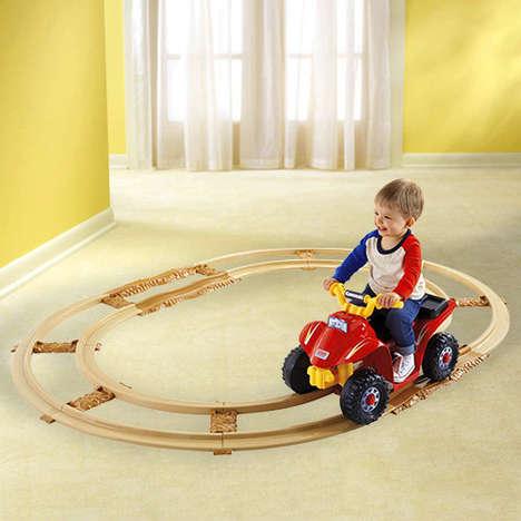 Track-Powered Mini Vehicles