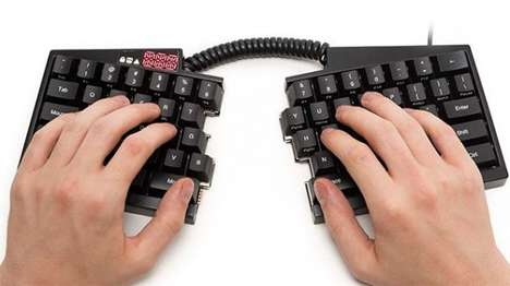Ergonomic Dissected Keyboards