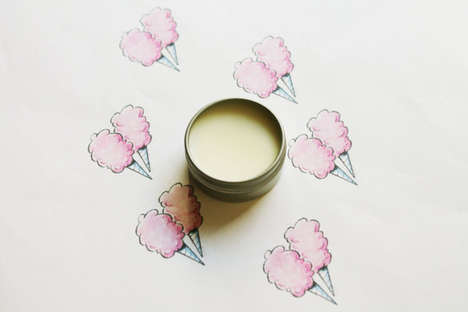 Candy Floss Chapsticks