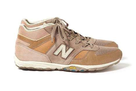 Neutral Desert Sneakers - The New Balance MNL710 Shoes are Inspired by the Heat of Morocco
