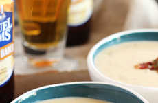 Pumpkin Beer Bisques - This Fall Soup Features Smoked Cheddar and Frothy Brew