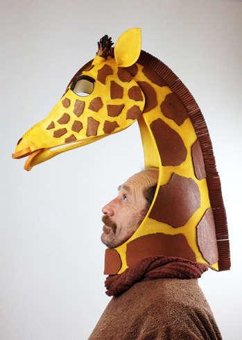 Handmade Animal Masks