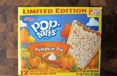Breakfast Pumpkin Tarts - These Pop Tarts are Infused with Frosted Pumpkin Pie Flavor