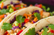 Piquant Thai Tacos - This Cooking Fusion Recipe Combines Both Mexican and Asian Foods