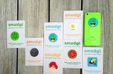 Sticker Screen Cleaners - Smudgi Sticky Wipes Make Keeping Your Smartphone Screen Clean a Cinch