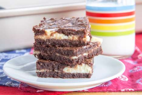 Healthy Ricotta Brownies