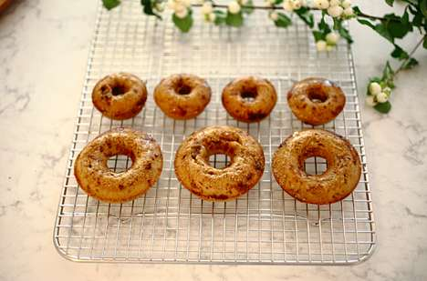 Autumnal Baked Donuts
