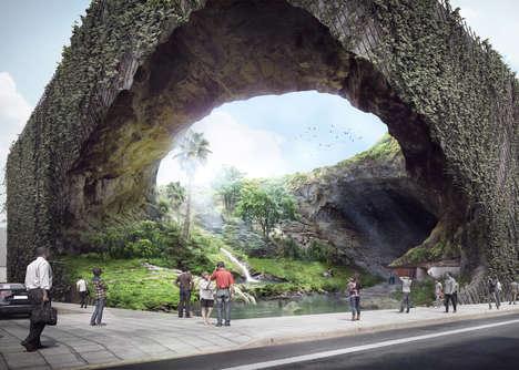 Cavernous Organic Museums