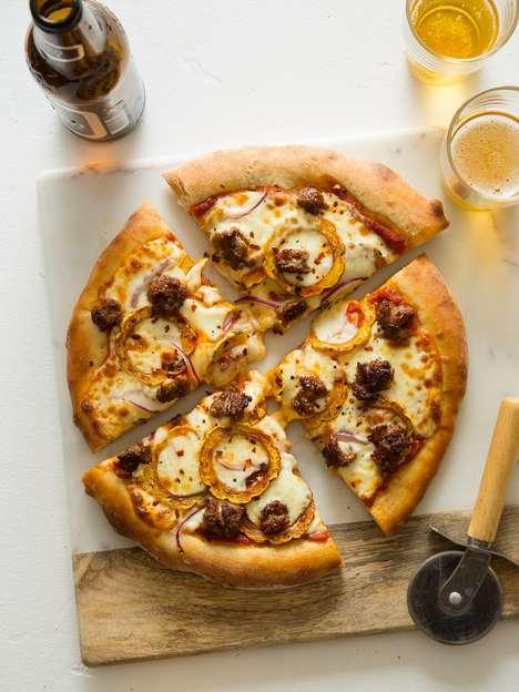 DIY Autumn Squash Pizzas