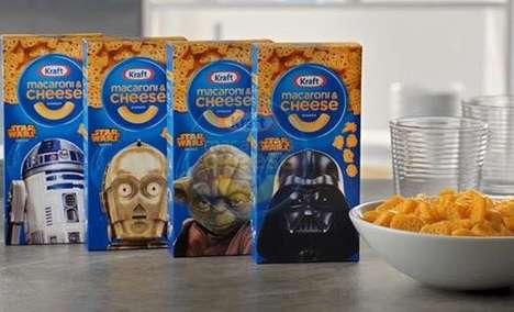 Intergalactic Pasta Ads
