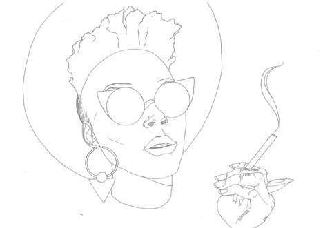 Afro-Feminist Coloring Books