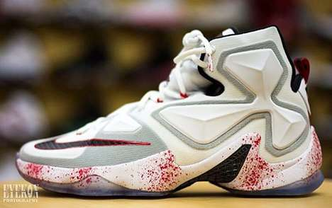 Blood-Splattered Sneakers