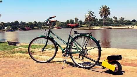 Compact Electric Bike Trailers