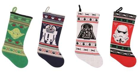 These Star Wars Christmas Stockings Use the Force to Summon Santa