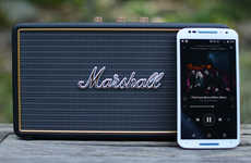 Iconic Audio Speakers - The Marshall Stockwell Speaker Features Signature Marshall Design Cues