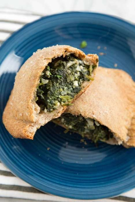 Cheesy Spinach Hand Pies