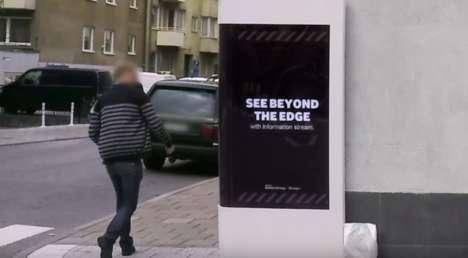Wrap-Around Alert Billboards