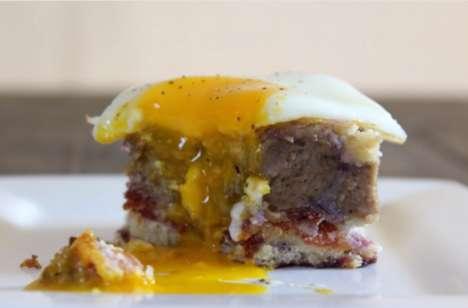 Savory Breakfast Cakes