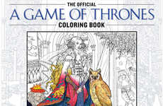 Medieval Fantasy Coloring Books - The Game of Thrones Coloring Book is Designed as an Adult Pastime