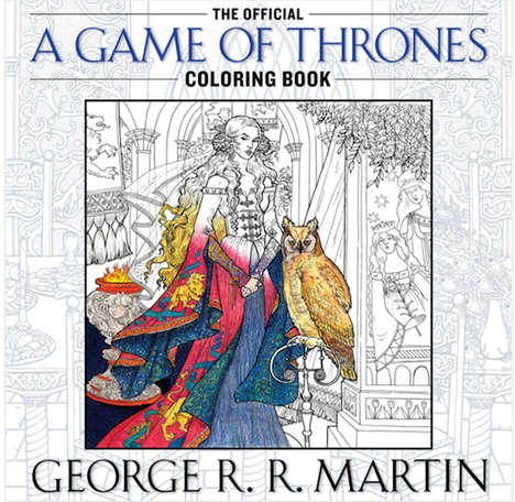 Medieval Fantasy Coloring Books