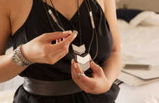 Headphone-Integrated Jewelry