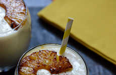 Caramelized Pineapple Drinks