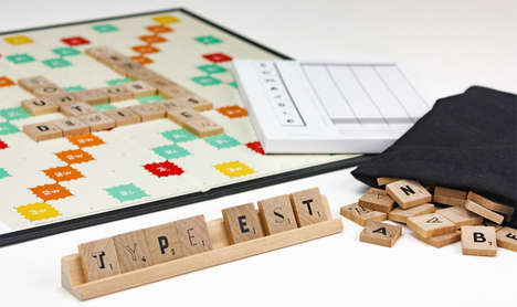 Typographic Board Games