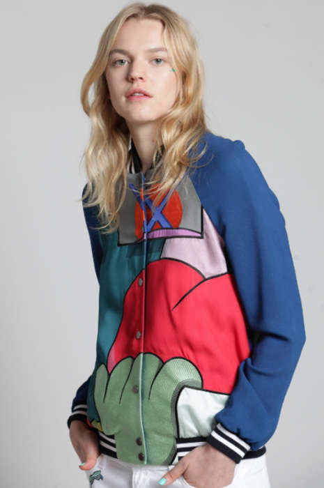 Artistic Co-Branded Jackets