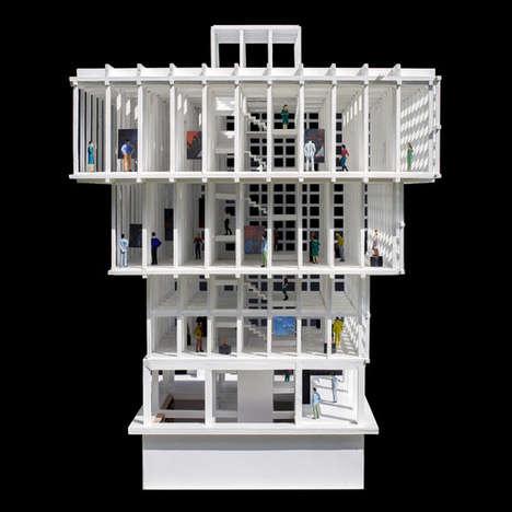 Inverted Museum Architecture