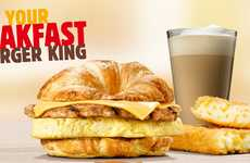 Upscale Fast Food Breakfasts