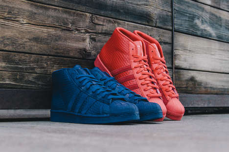 Monochromatic Snakeskin Shoes