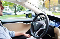 Semi-Autonomous Vehicles - The Latest Tesla Software Gives Cars an Autopilot Self-Driving Ability